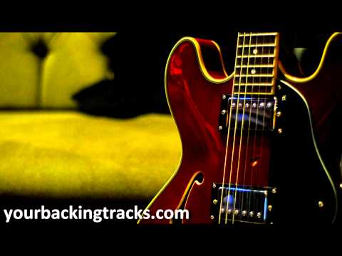 Minor Smooth Jazz Backing Track in Ebm / Free Guitar Jam Tracks TCDG
