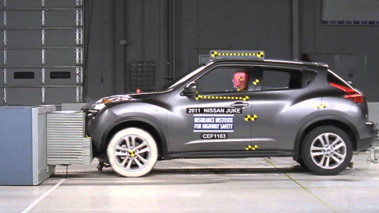 Nissan Juke (2011) CRASH TEST   YouTube