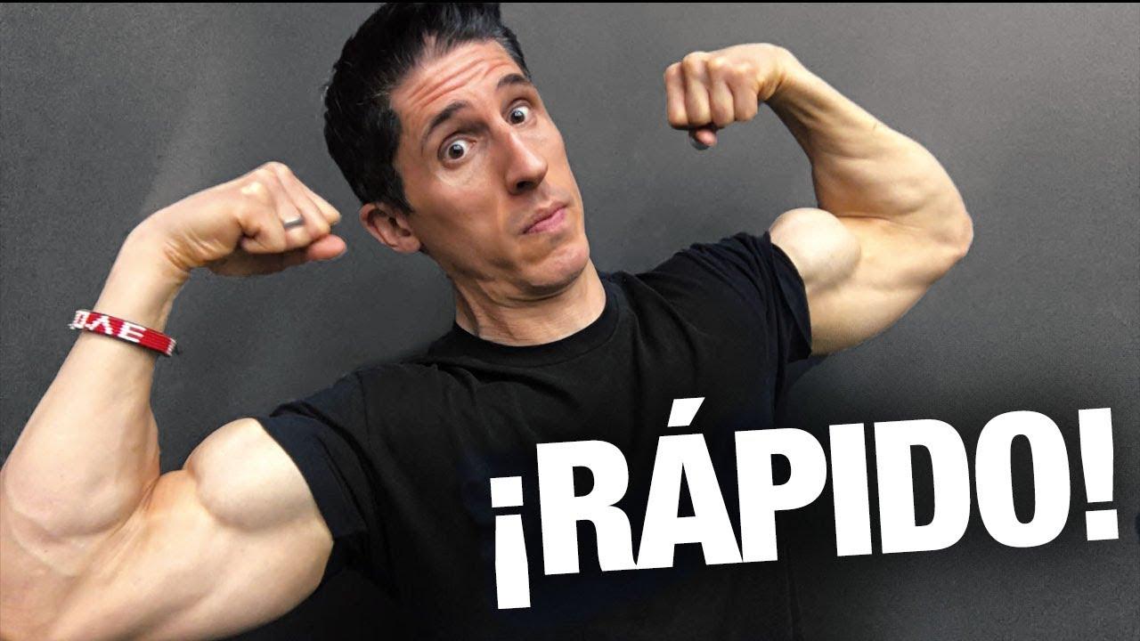 como ejercitar el biceps en casa