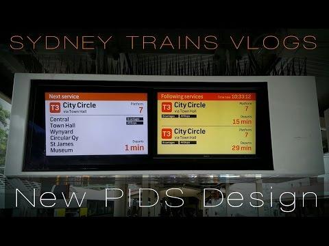 Sydney Trains Vlog 1270: New Passenger Information Display System (PIDS)