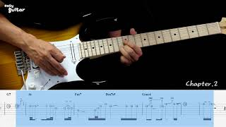 Steelheart - She's Gone Guitar Lesson with TAB (Slow Tempo)