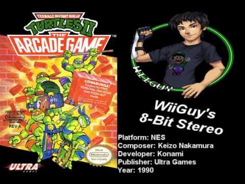 Teenage Mutant Ninja Turtles 2: The Arcade Game (NES) Soundtrack - 8BitStereo
