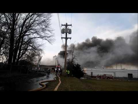 3-24-17, 2979 State Rd, Bristol Twp, Bucks Co, PA, 3 Alarm Building Fire