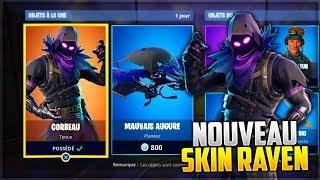 NEW RAVEN SKIN AVAILABLE (RAVEN SKIN)! FORTNITE Battle Royale 06/04