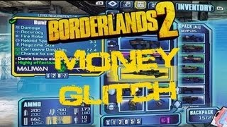 Borderlands 2 Glitch Unlimited Money Cheat / Glitch | Updated & Tested