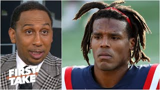 Stephen A. isn't sold on Cam Newton & he's getting worried about the Patriots | First Take
