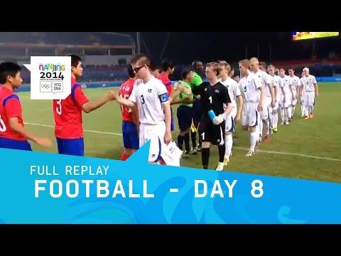 Football - Republic of Korea v Iceland Men's Semi Final | Full Replay | Nanjing 2014