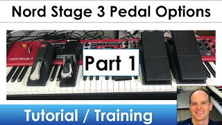Nord Stage 3 | Learn All About the Pedal Options (Part 1)