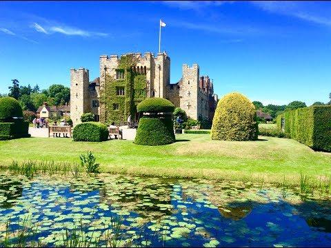Anne Boleyn's Hever Castle (Inside View) In Edenbridge, Kent #hever #hevercastle #kent