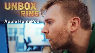 The Best kolonėlė Ever?   Apple HomePod   Unbox Ring apžvalga