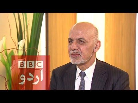 President  Ashraf Ghani Interview.