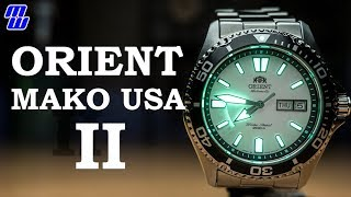 orient Mako USA II SAA0200CW9 - Review and compared to the USA I (Ted loves birds)