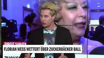Florian Wess wettert über Zuckerbäcker-Ball