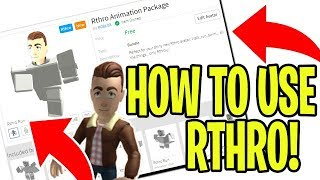 HOW TO USE RTHRO IN ROBLOX (ANTHRO) (How to install)