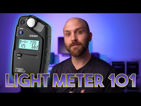 Photography 101: How to Light Meter for Light Ratios with Sekonic Flashmate L-308X-U