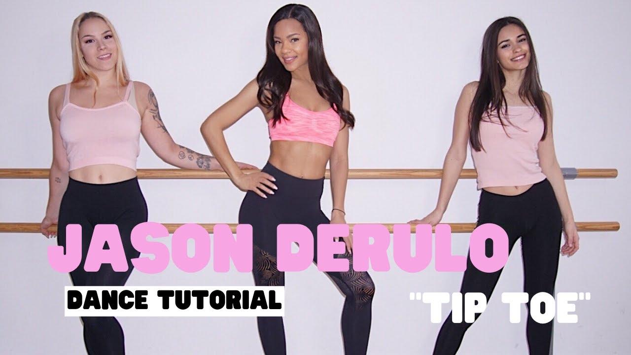 Dance with Zazou: Jason Derulo - Tip Toe (Dance Tutorial)