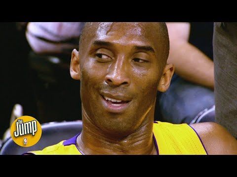 NBA stars reflect on the first game against Kobe Bryant | The Jump |
