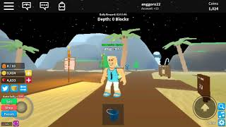 Ipin again dig into the sand to arrive at the Treasure | Roblox Indonesia