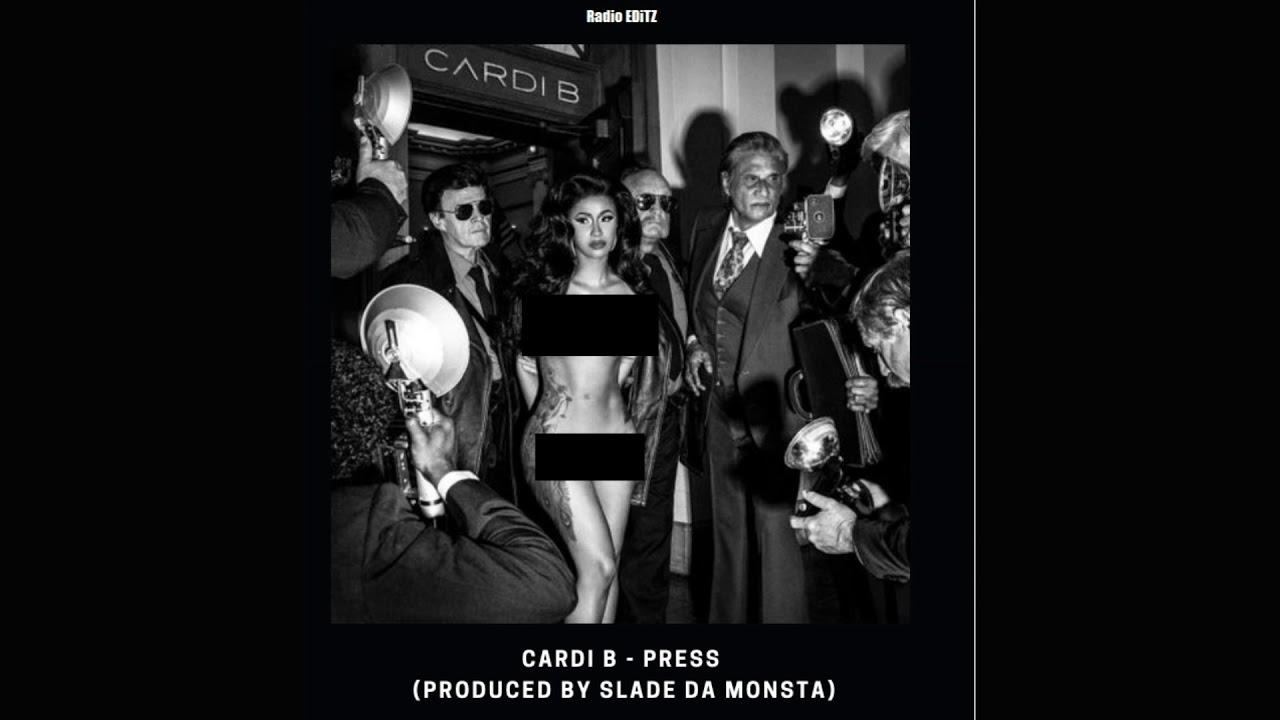 Cardi B Clean: Press (Clean Version)