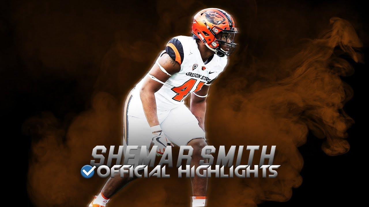 Most Underrated LB in the Pac-12 - Shemar Smith Official Oregon State Highlights ᴴᴰ