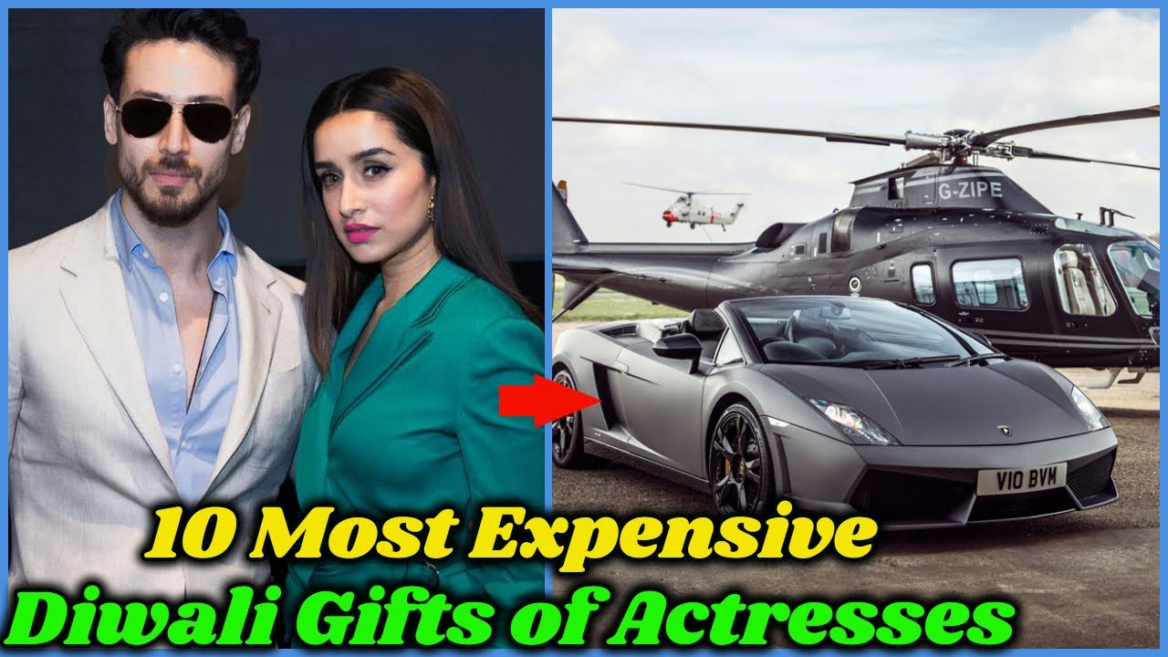Most Expensive Diwali Gifts of Bollywood Actresses