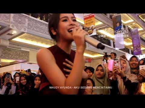 Maudy Ayunda - Aku Sedang Mencintaimu @Standardpen.id Jogja City Mall 8-9 September 2018