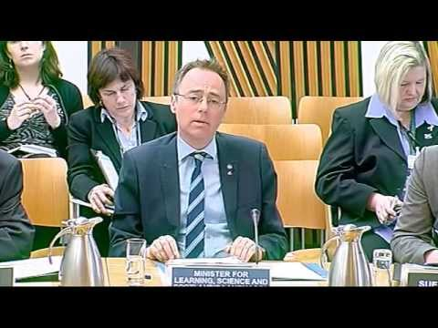 European and External Relations Committee - Scottish Parliament: 18th April 2013