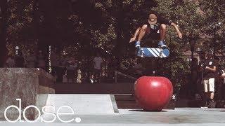 Dennis Busenitz, Lucas Puig, Benny Fairfax & Adidas Team Skate LES Park In NYC