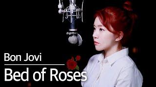 (+5key up) Bed of Roses - Bon Jovi (Here We Go~) | Bubble Dia