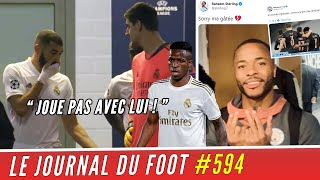 La terrible charge de Karim BENZEMA contre VINICIUS ! Man. CITY et STERLING chambrent l'OM