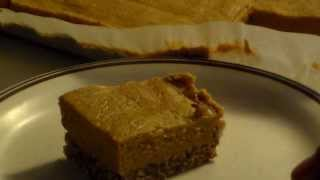 Gluten Free Vegan No-bake Pumpkin Pie Bars
