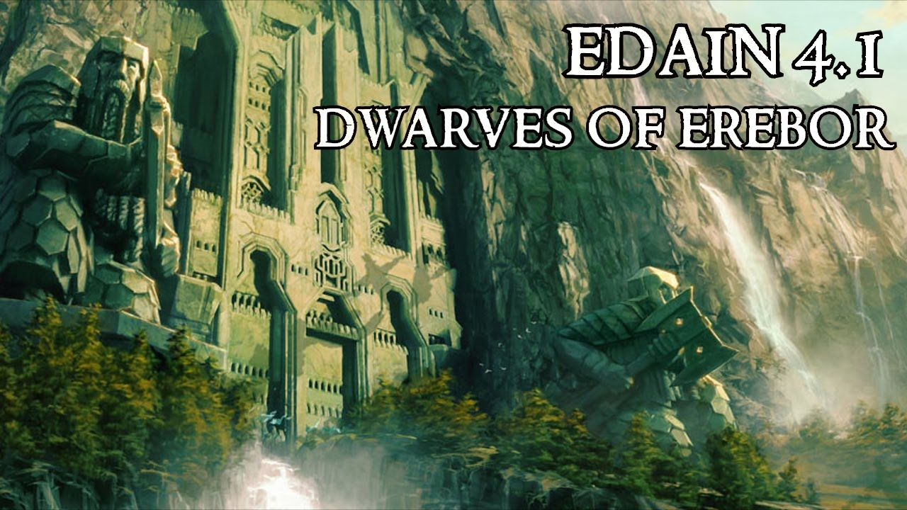 BFME2 Edain 41  Dwarves of Erebor  Brutal AI FFA  YouTube