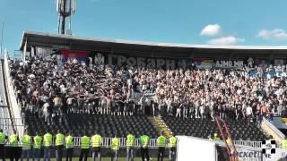 Repeat youtube video Oo paokara exo trela   Gde god ti da igraš / Partizan-Čukarički 28.05.2014