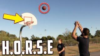 Crazy Game Of H.O.R.S.E! IRL Basketball Challenge