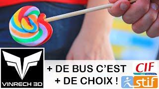 Plus de bus c'est plus de choix par KEOLIS & CIF - VINRECH 3D