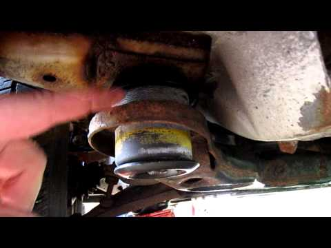 on 97 Buick Lesabre Frame