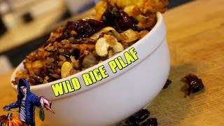 Wild Rice Pilaf | The Vegan Zombie