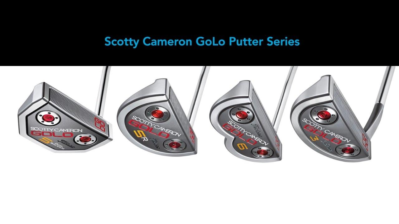 Titleist Scotty Cameron-Golo Putter Line