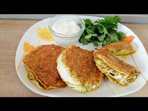 Бесподобный низкоуглеводный завтрак для диабетиков (на 1 хе)! Быстро, полезно, вкусно!