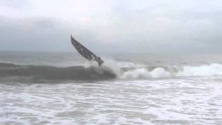 Massive Wave Hits Boat Badly!!!!!