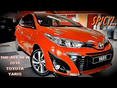 The All-New 2018 Toyota Yaris Has Arrived in South Africa!   It's a Spicy Car!