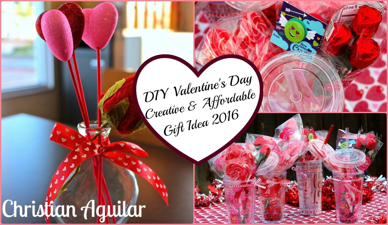 DIY Valentine's Day Creative and Affordable Gift Idea 2016 - YouTube