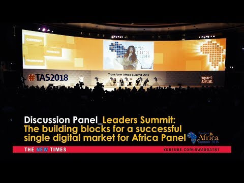 #TAS2018 Discussion: Build blocks for a successful single digital market for Africa Panel