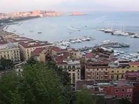 Napoli da Sant\'Antonio a Posillipo - YouTube