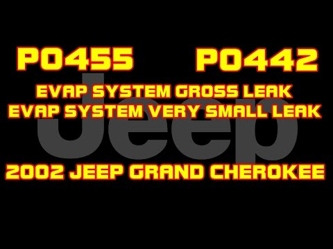 2002 jeep grand cherokee 4 p0455 p0442 evap system 2001 Jeep Grand Cherokee Laredo 2002 jeep grand cherokee 4 p0455 p0442 evap system gross and small leak detected