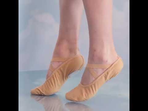 Women Ballet shoes Dance Adult Children Ballet Slippers Soft Sole Professional Canvas Dance #shorts