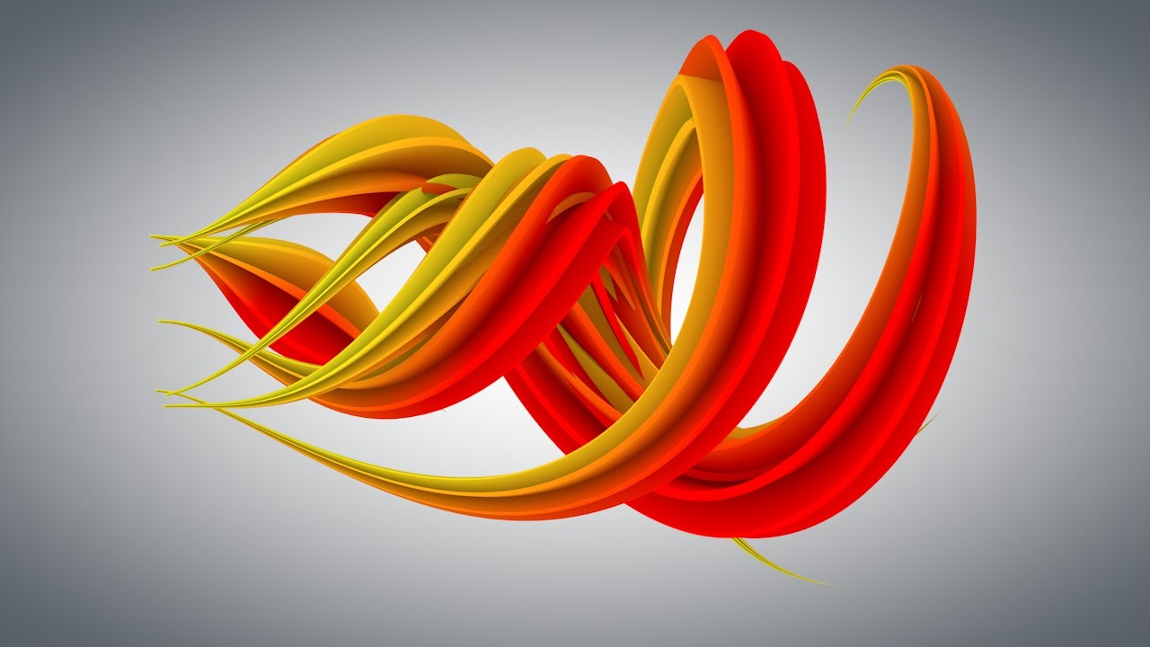 Cinema 4d Tutorial How To Make An Abstracts Using