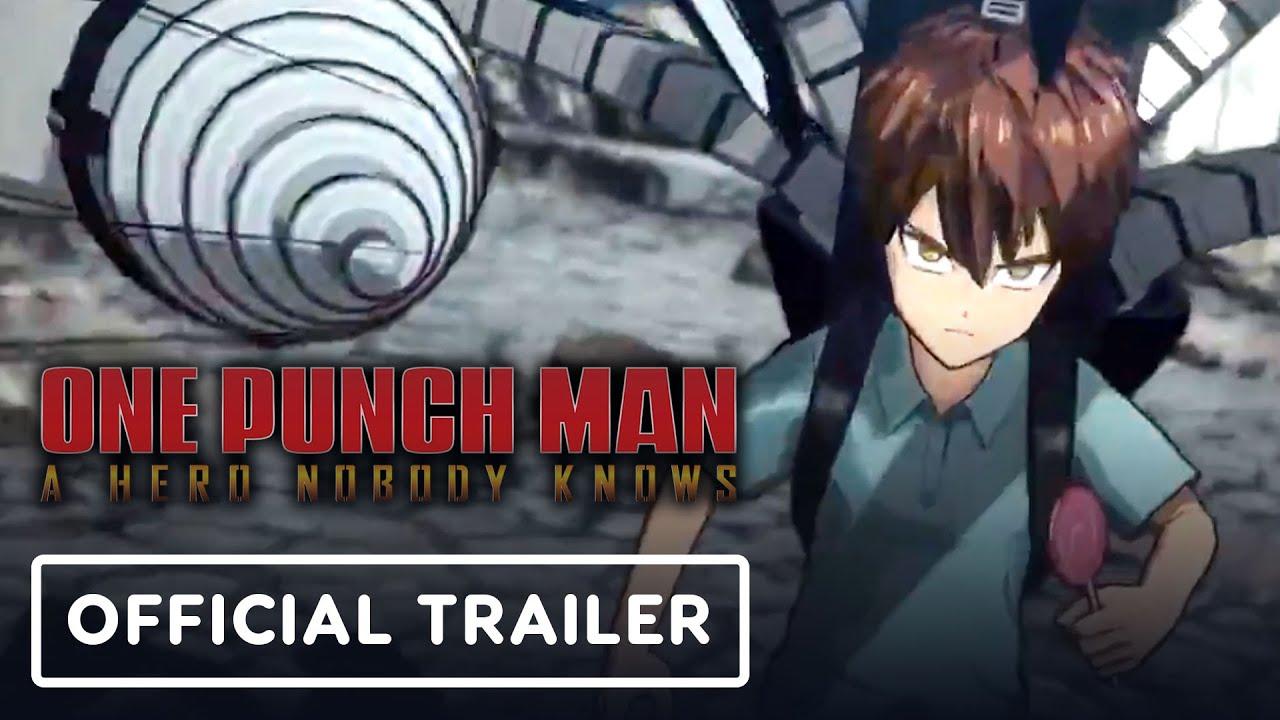 One Punch Man: A Hero Ninguém sabe - Trailer Oficial dos Personagens + vídeo