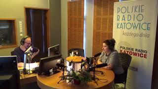 Barbara Wrońska o swoim solowym materiale cz2. Radio Katowice, 18.12.2017
