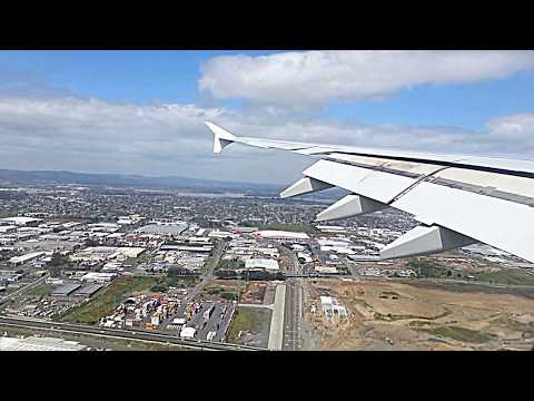 Emirates A380 | Landing at Auckland Airport
